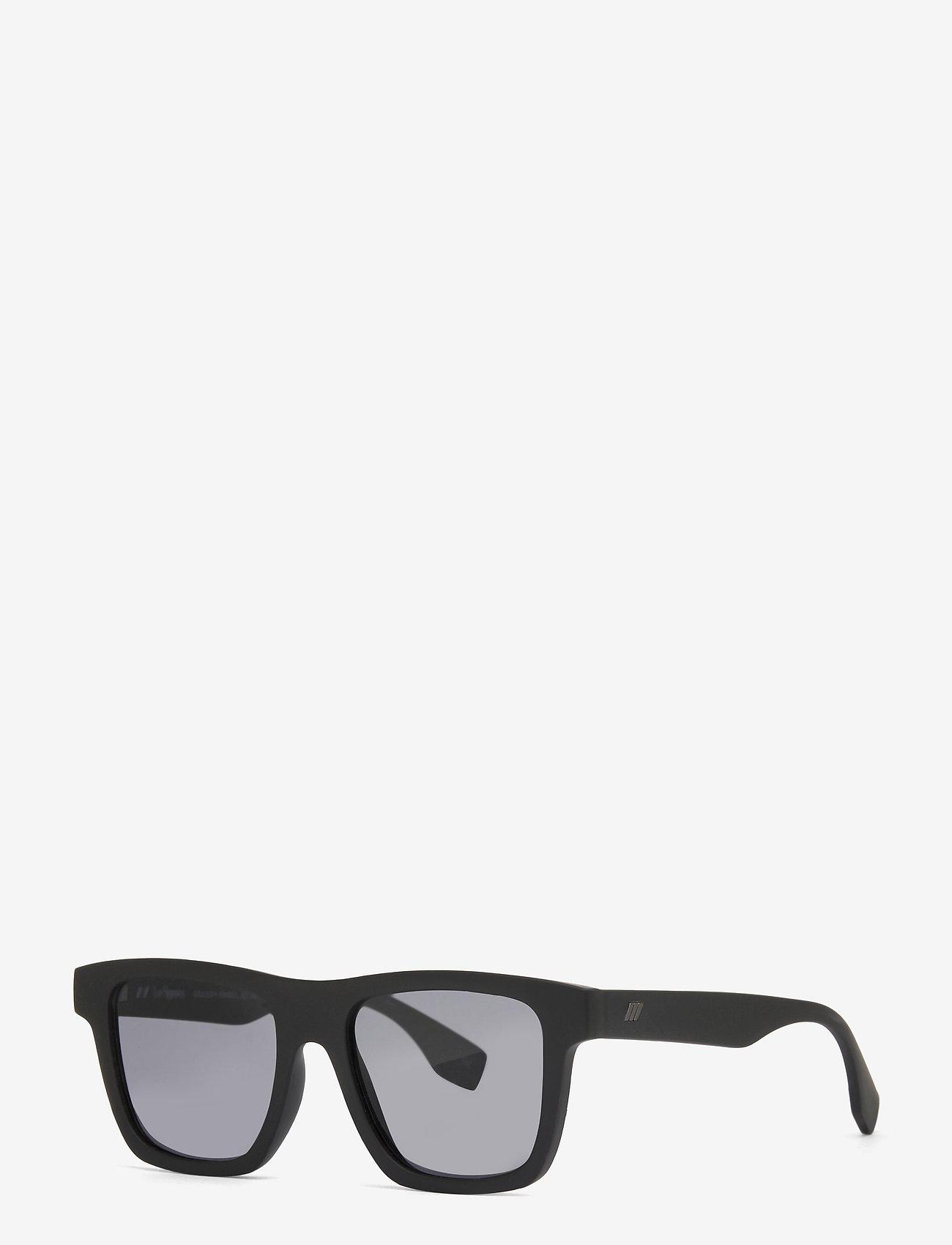 Le Specs - LE SUSTAIN - GRASSY KNOLL - d-vormige - black grass w/ smoke mono lens - 1