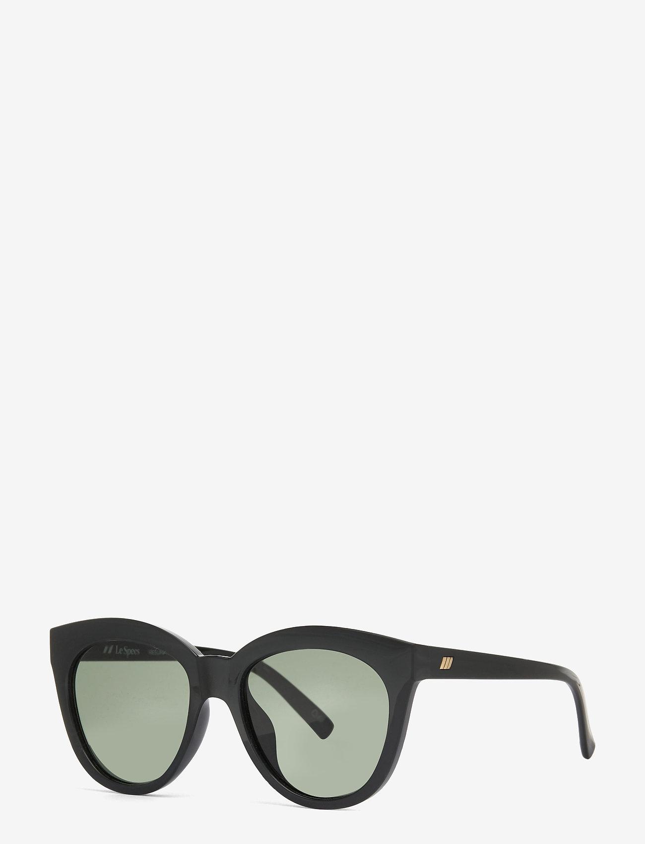 Le Specs - LE SUSTAIN - RESUMPTION - rond model - black w/ khaki mono lens - 1
