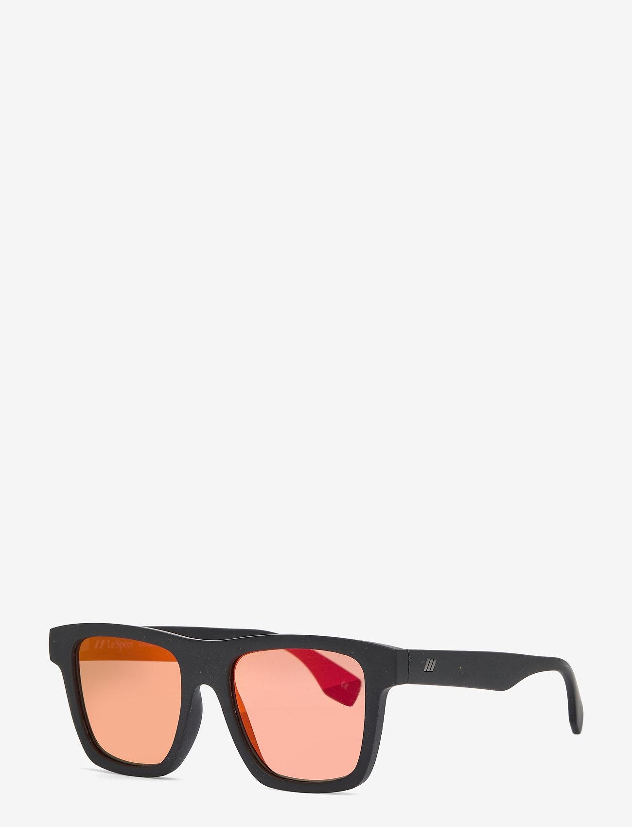 Le Specs - LE SUSTAIN - GRASSY KNOLL - d-vormige - black grass w/ red mirror - 1