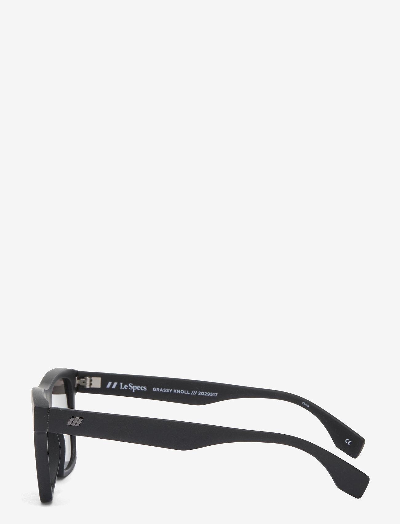 Le Specs - LE SUSTAIN - GRASSY KNOLL - d-vormige - black grass w/ red mirror - 2