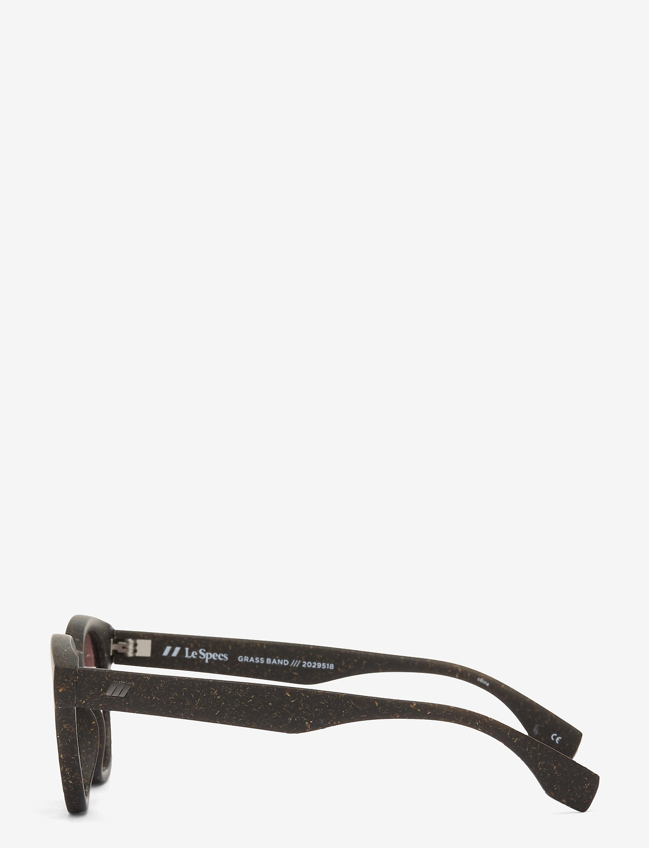 Le Specs - LE SUSTAIN - GRASS BAND - okrągłe okulary przeciwsłoneczne - midnight grass w/ smoke mono lens - 2