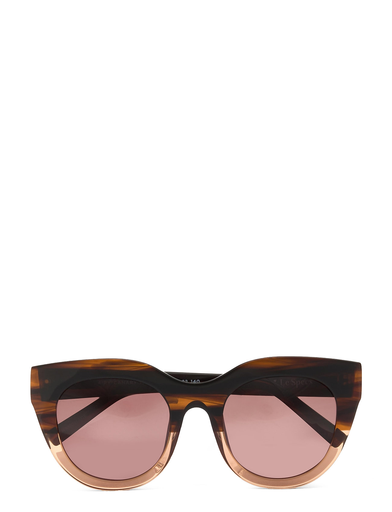 Le Specs Handmade/Rx - Airy Canary Solbriller Brun Le Specs