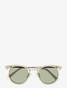 NO LURKING - ronde zonnebril - stone w/ khaki mono