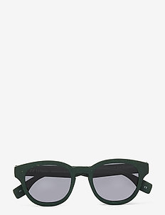LE SUSTAIN - GRASS BAND - ronde zonnebril - khaki grass w/ smoke mono lens