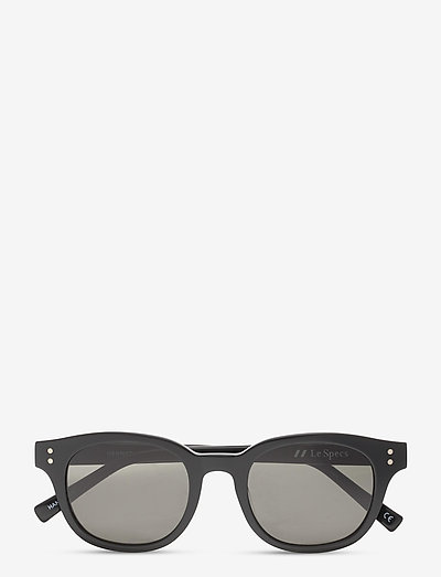LE SPECS HANDMADE - HERMETICA - okulary przeciwsłoneczne motyl - black