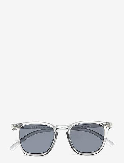 NO BIGGIE - okulary przeciwsłoneczne motyl - pewter w/ smoke mono lens