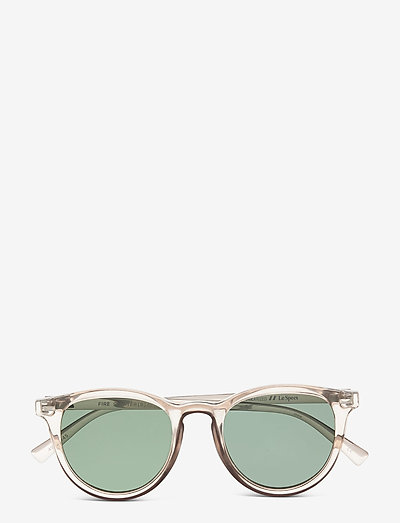FIRE STARTER *POLARIZED* - okrągłe okulary przeciwsłoneczne - stone w/ khaki mono lens **polarized**