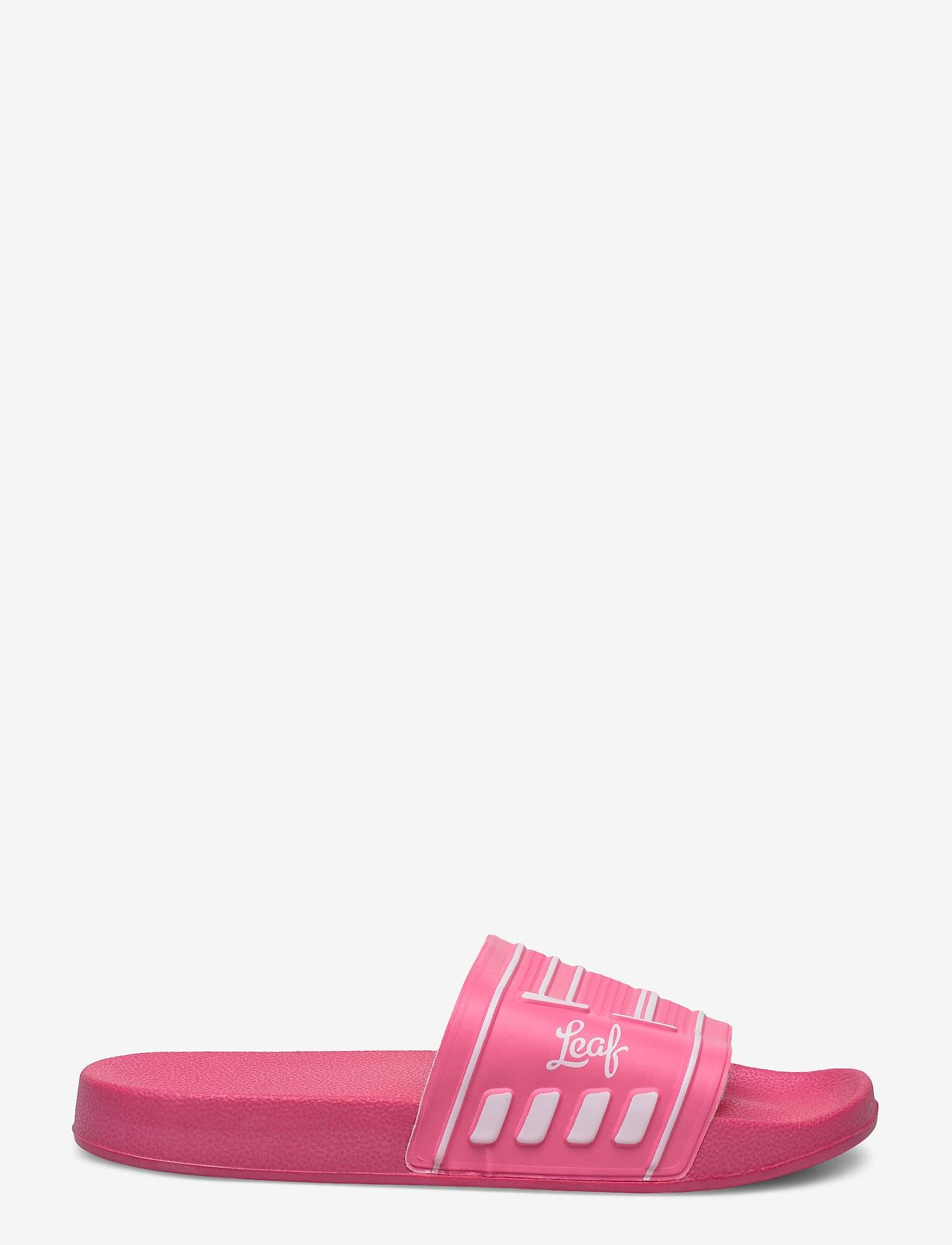 Leaf - Backa - pool sliders - pink - 1