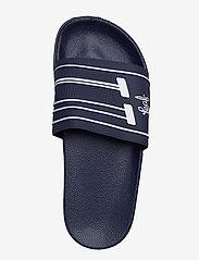 Leaf - Backa - pool sliders - navy - 3