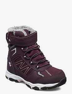 Berget - talvikengät - dk purple