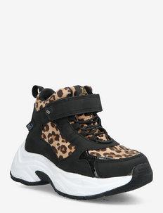 Narken - höga sneakers - leopard