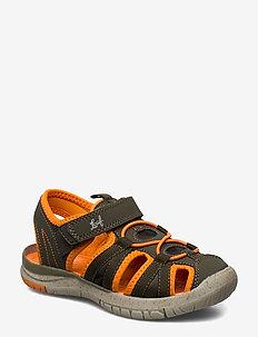 Salo - sandals - camo