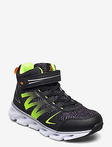 Steneby - high tops - black/lime