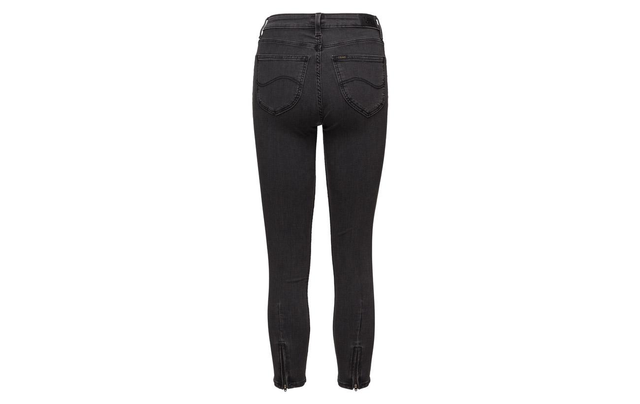12 Elastane Polyester 58 High Scarlett Cropped 2 Grey Coton Jeans Viscose 28 Stone Lee xvwOYz1x