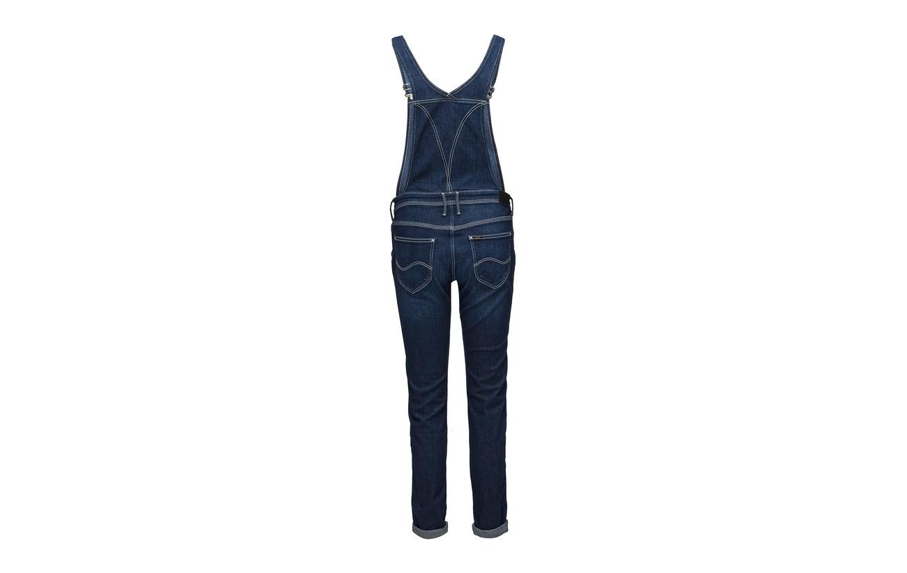 Elastomultiester 92 6 2 Range Coton Lee Elastane Relaxed Bib Jeans Blue BqnwA86fg8