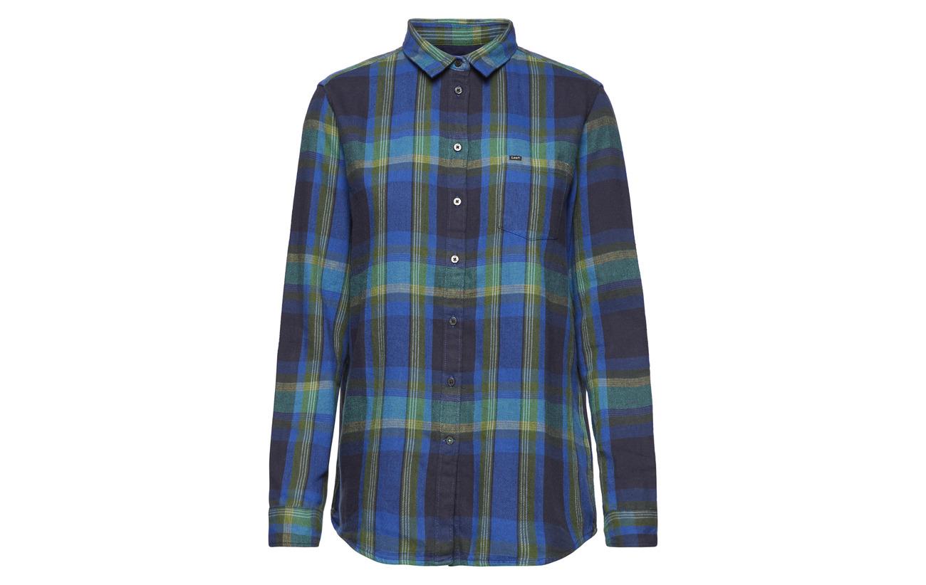 Lee One Night 100 Shirt Jeans Sky Coton Pocket wTPxq7rBw