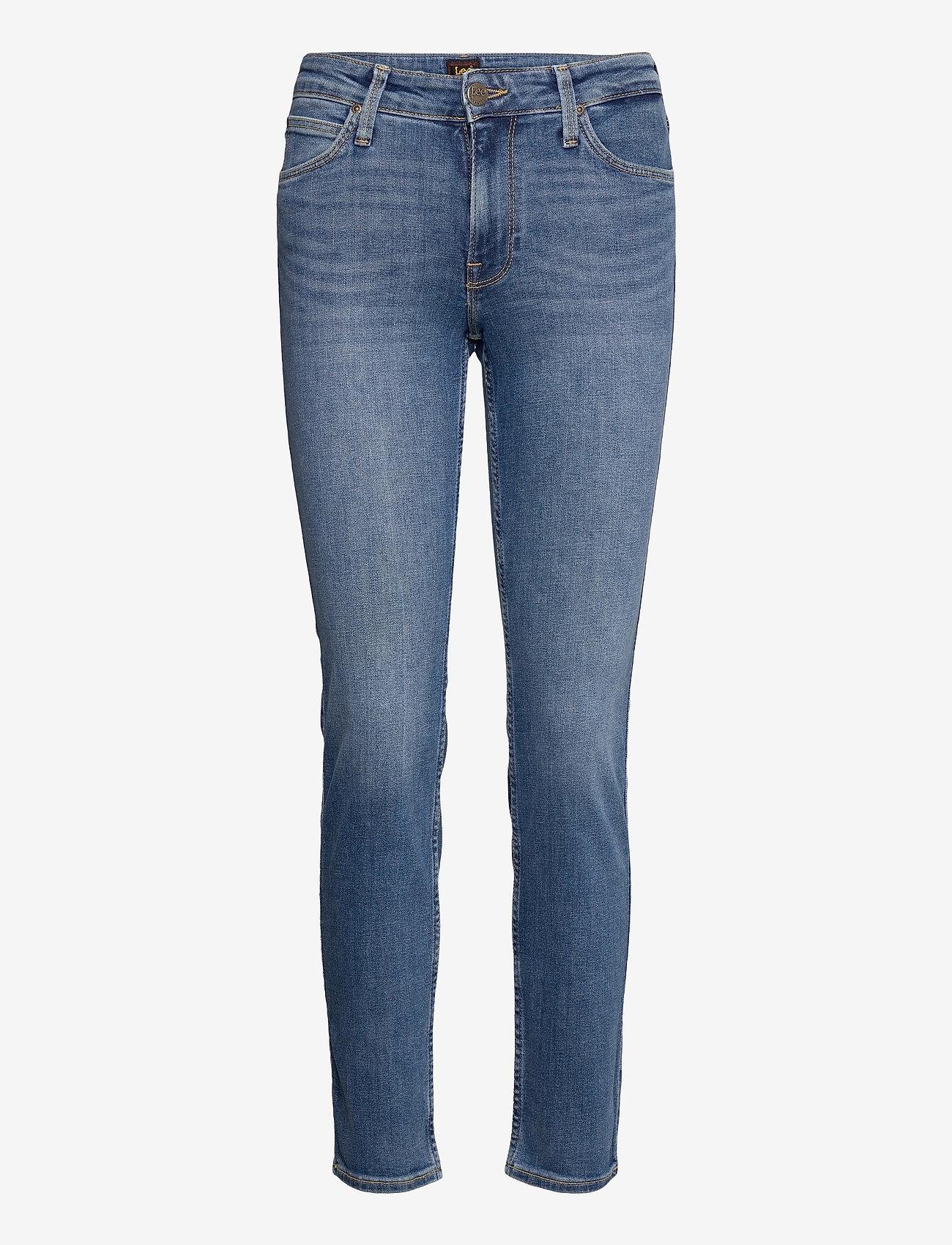 Lee Jeans - ELLY - slim jeans - mid worn martha - 0