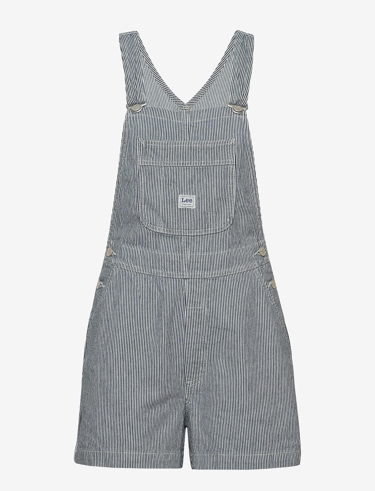 Lee Jeans - BIB SHORT - hickory stripe - 0