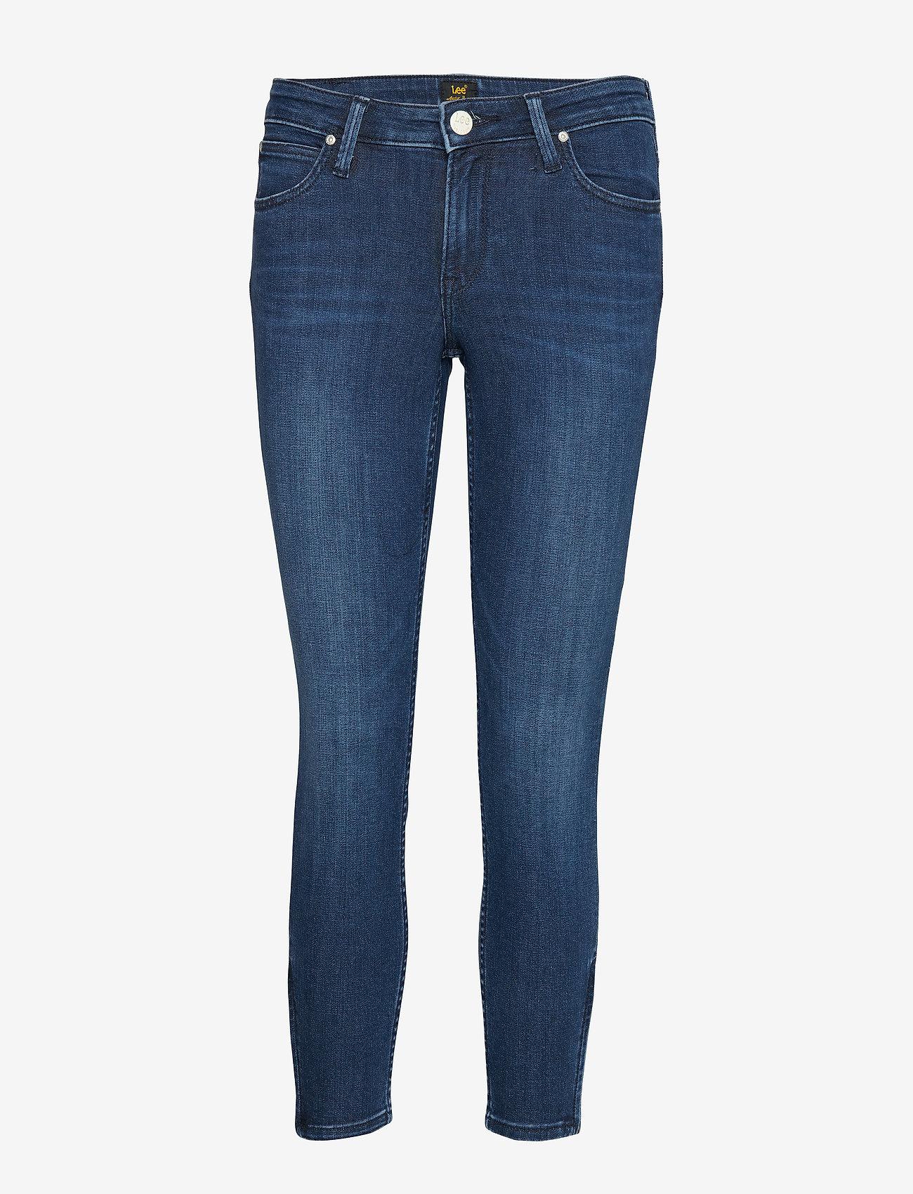 Lee Jeans - SCARLETT CROPPED - skinny jeans - sitka worn in - 0