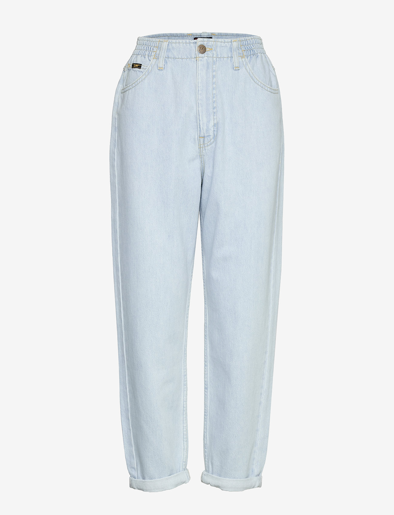 Lee Jeans - ELASTICATED MOM - mammajeans - bleached ore - 0
