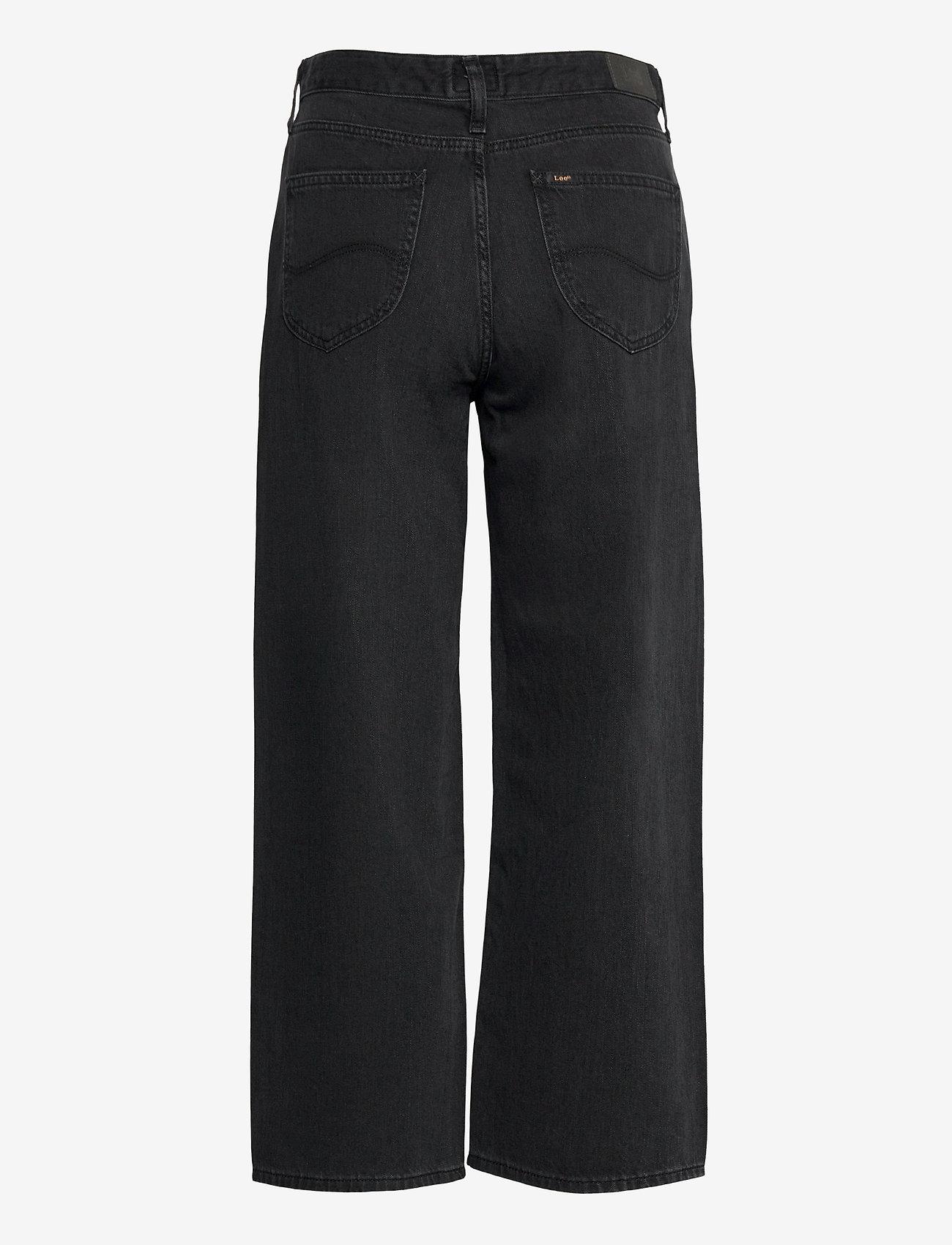 Lee Jeans - WIDE LEG - brede jeans - black duns - 1