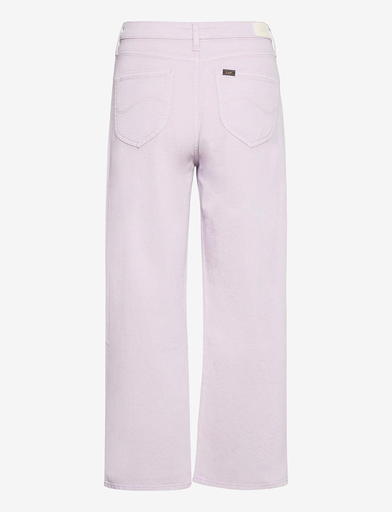 Lee Jeans - WIDE LEG - brede jeans - lilac - 1