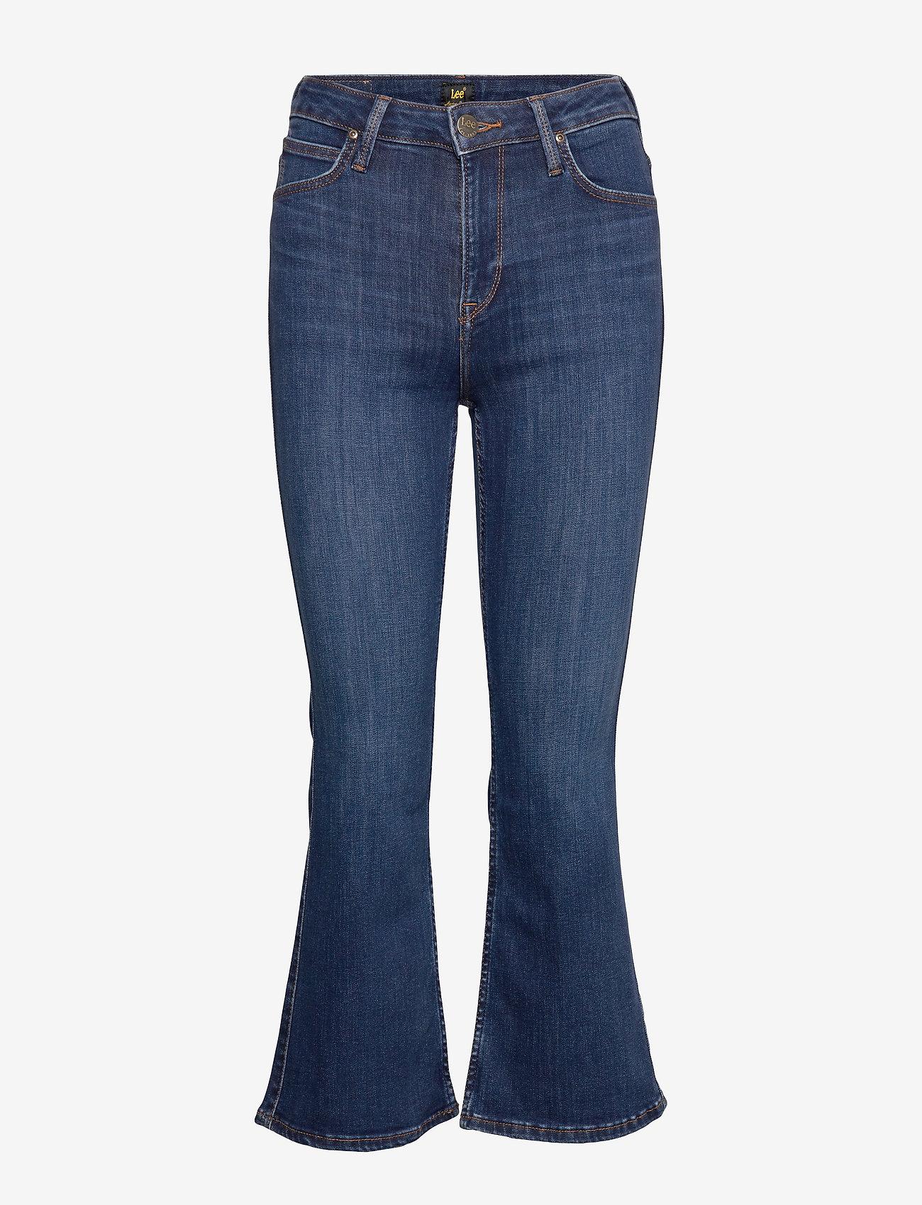 Lee Jeans - KICKED FLARE - schlaghosen - dark hunt - 0
