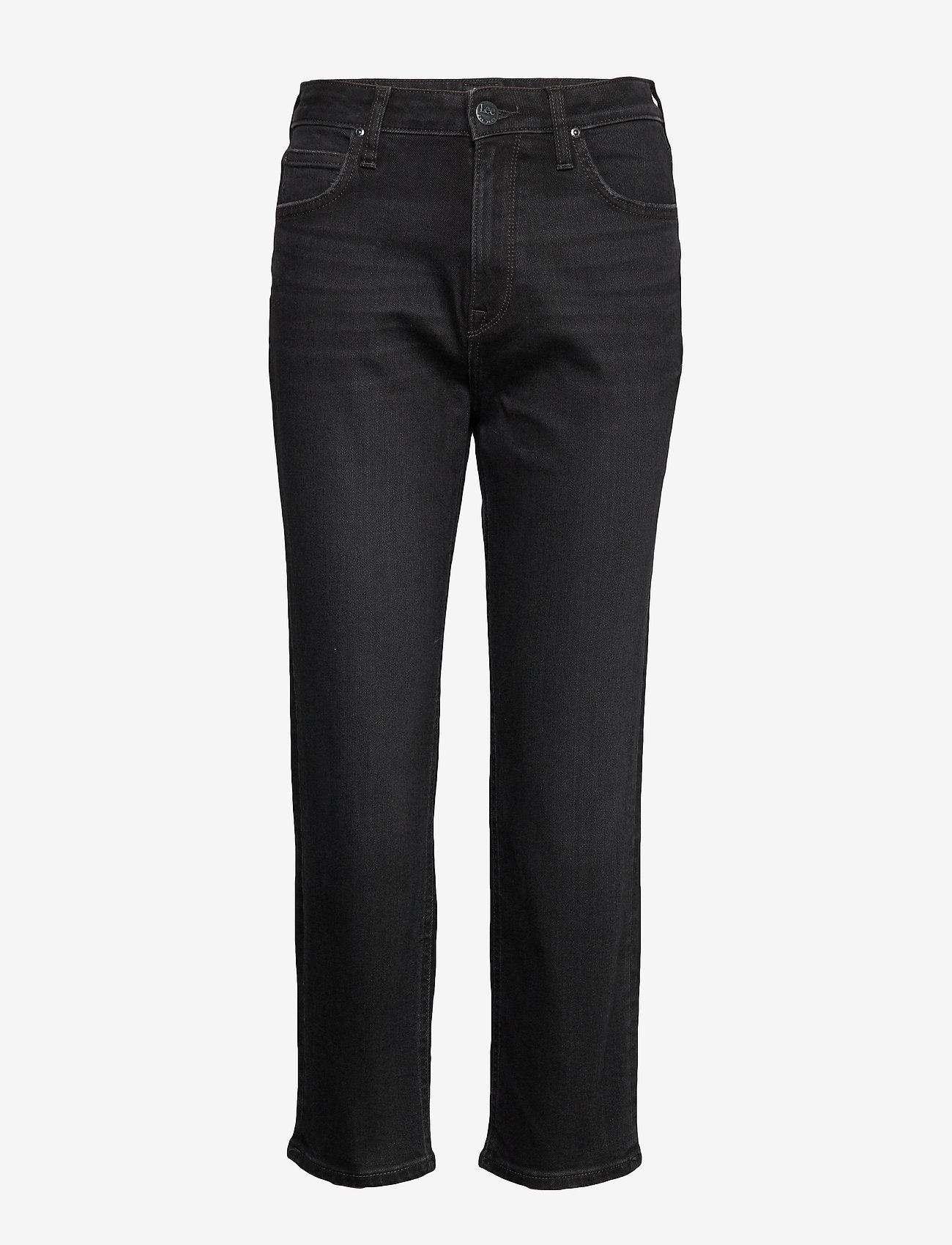 Lee Jeans - CAROL - straight jeans - black worn - 0