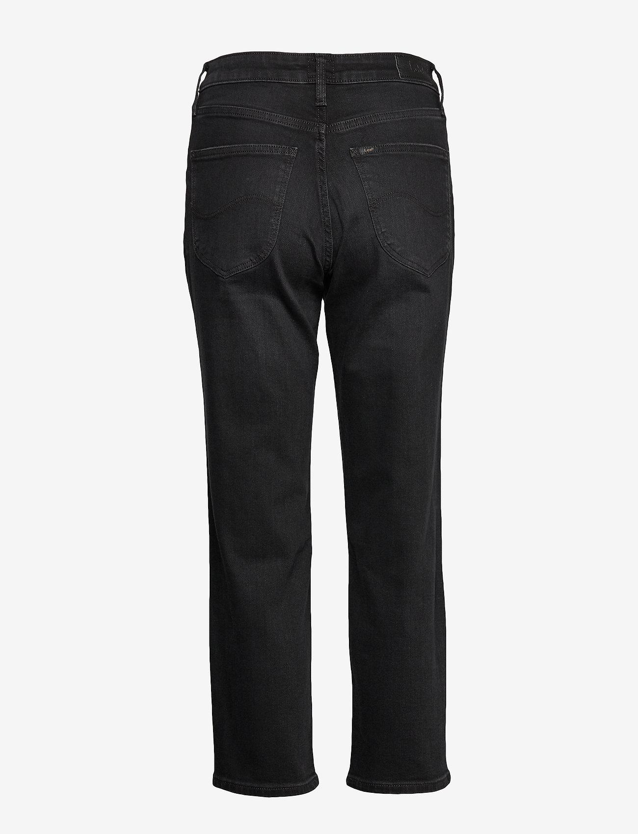 Lee Jeans - CAROL - straight jeans - black worn - 1