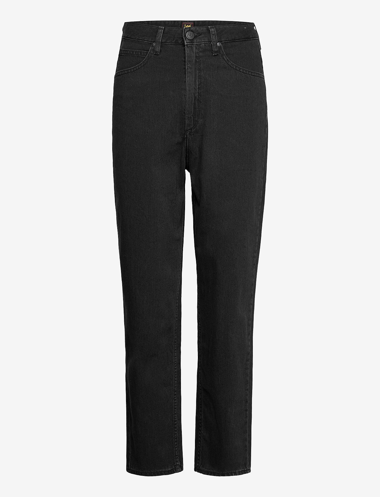 Lee Jeans - STELLA TAPERED - mom jeans - black duns - 0