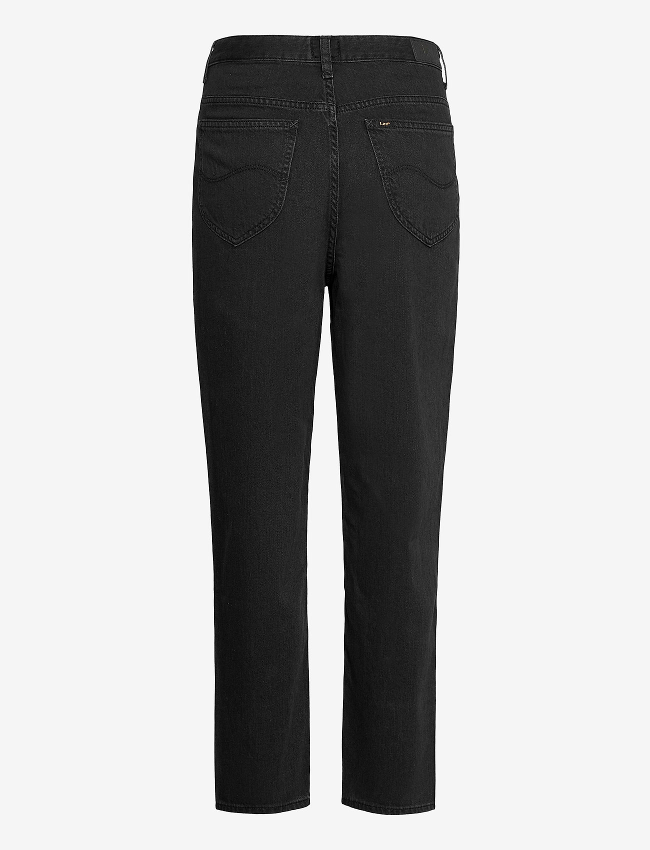 Lee Jeans - STELLA TAPERED - mom jeans - black duns - 1