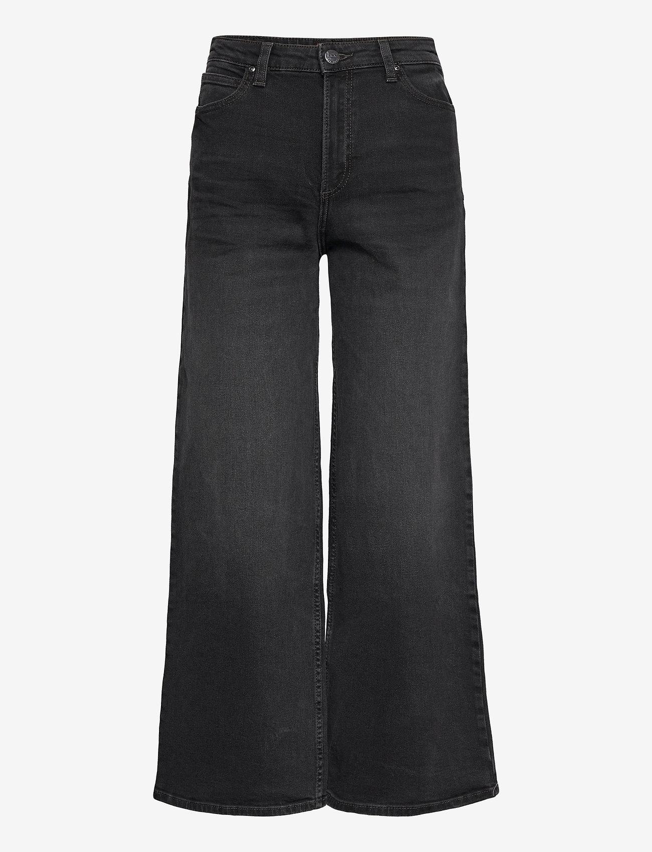 Lee Jeans - A Line Flare - schlaghosen - captain black - 0