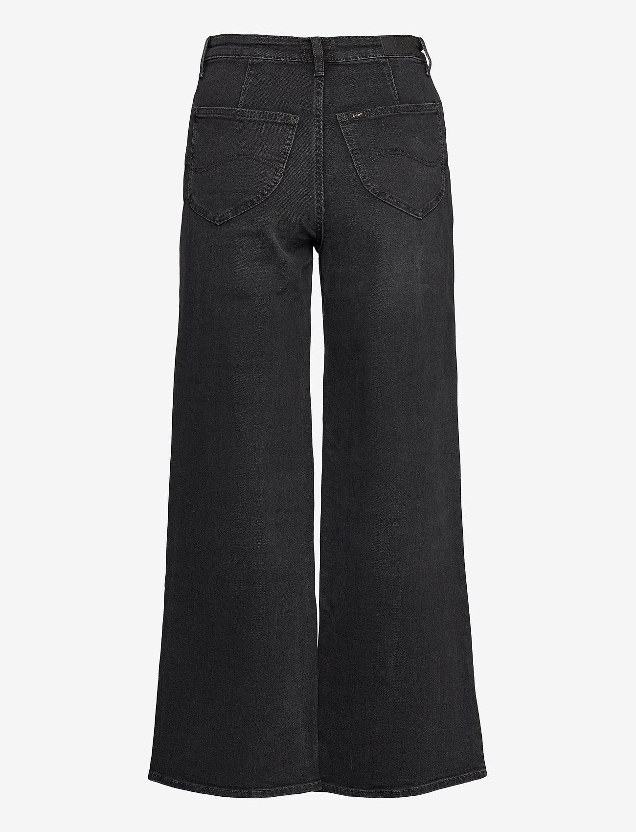 Lee Jeans - A Line Flare - schlaghosen - captain black - 1