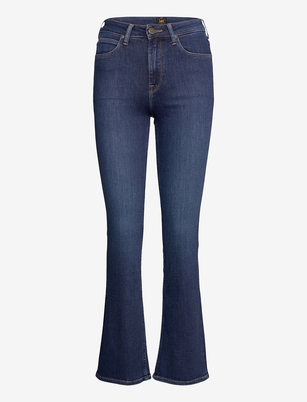 Lee Jeans - BREESE BOOT - uitlopende jeans - dark bristol - 0