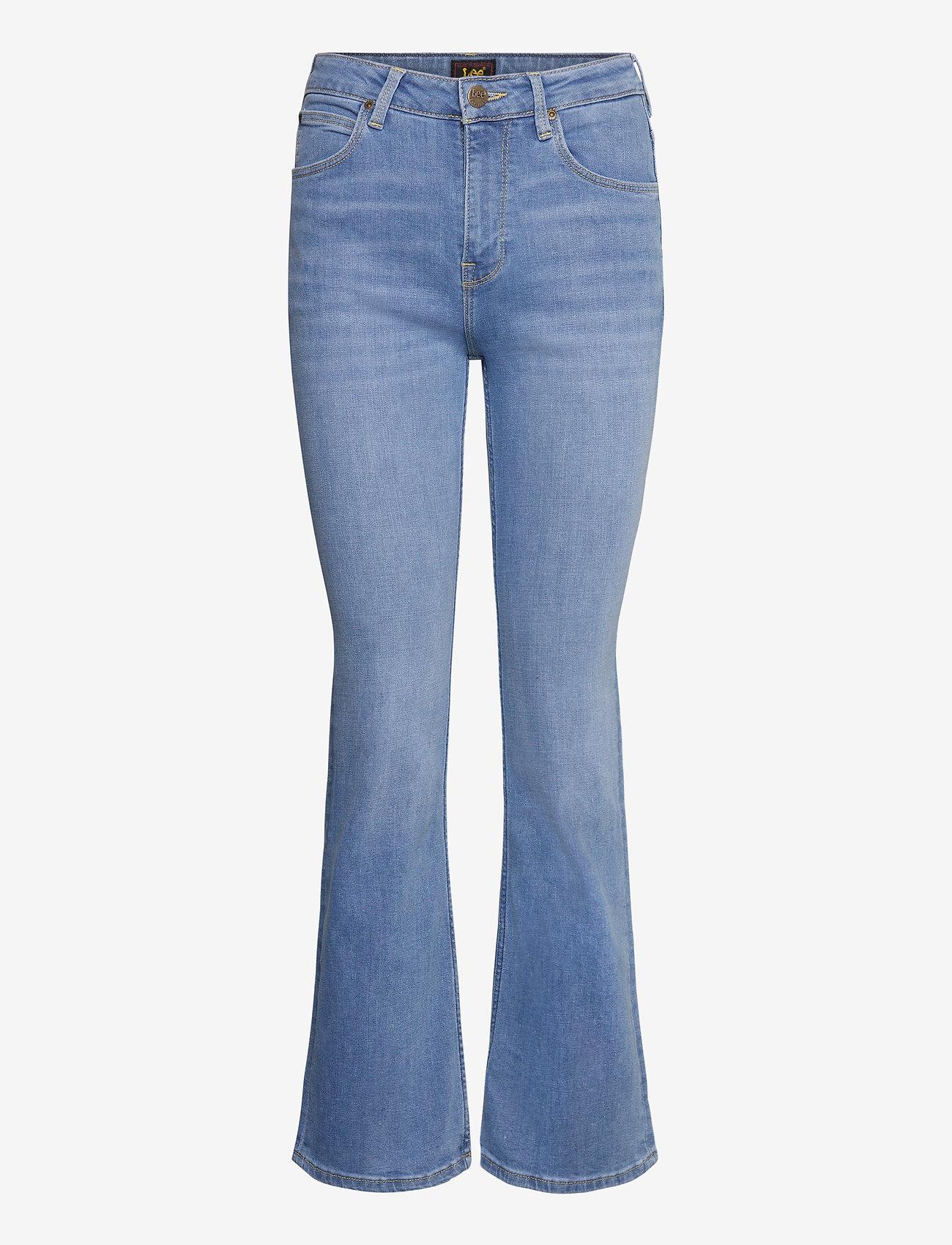 Lee Jeans - BREESE BOOT - schlaghosen - light lou - 0