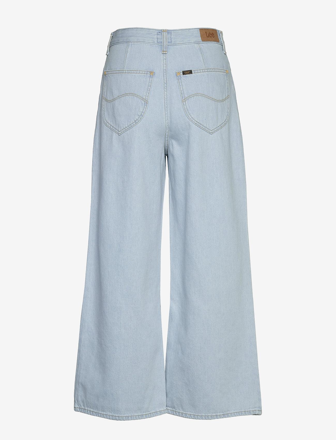 Lee Jeans - CROPPED A LINE FLARE - broeken met wijde pijpen - bleached ore - 1