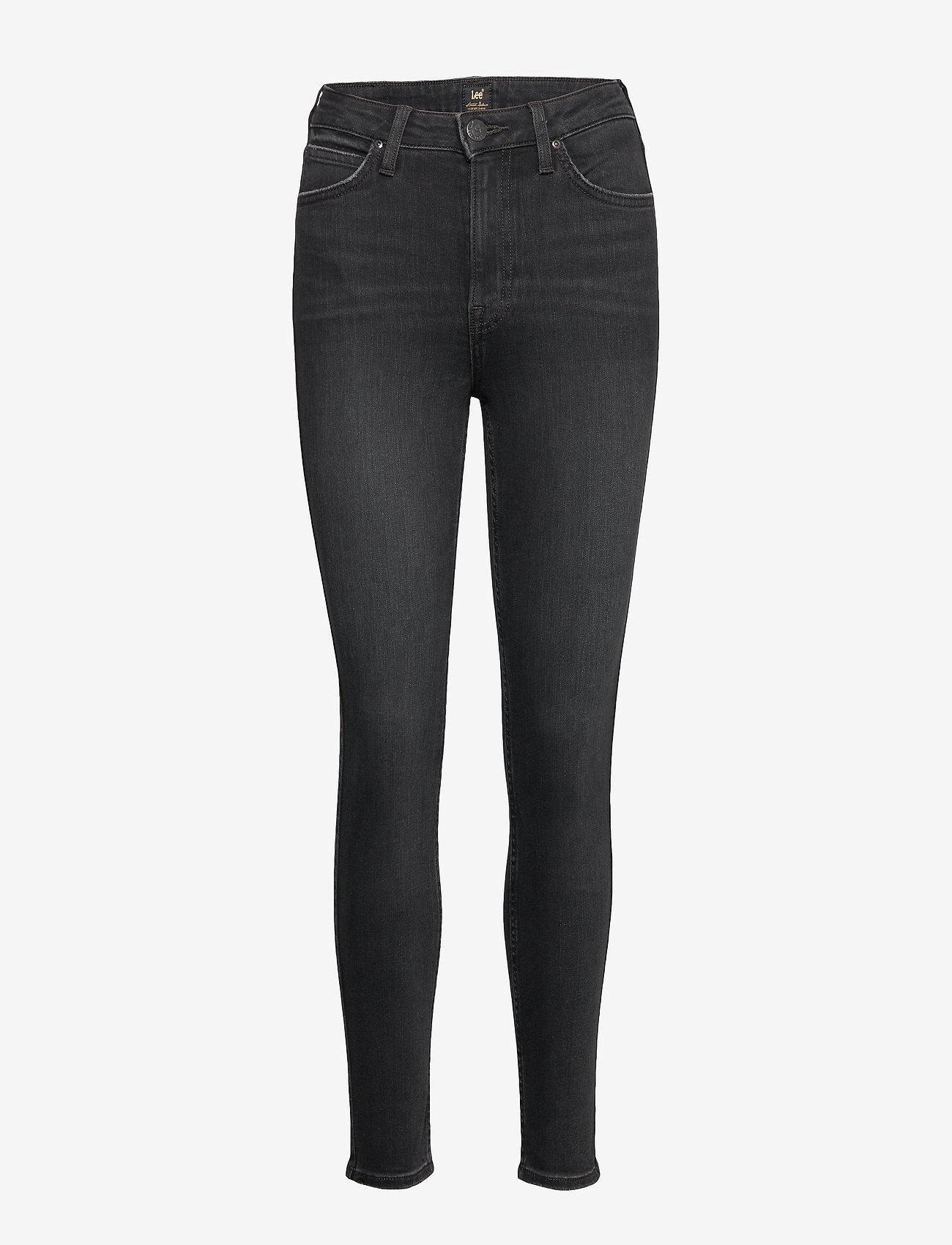 Lee Jeans - IVY - slim jeans - washed black - 1