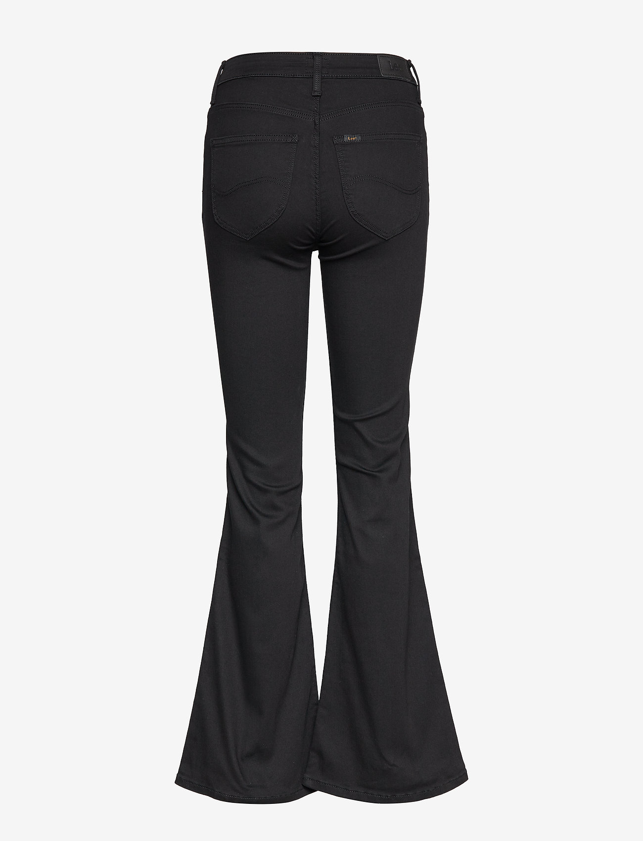 Lee Jeans - BREESE - schlaghosen - black rinse - 1