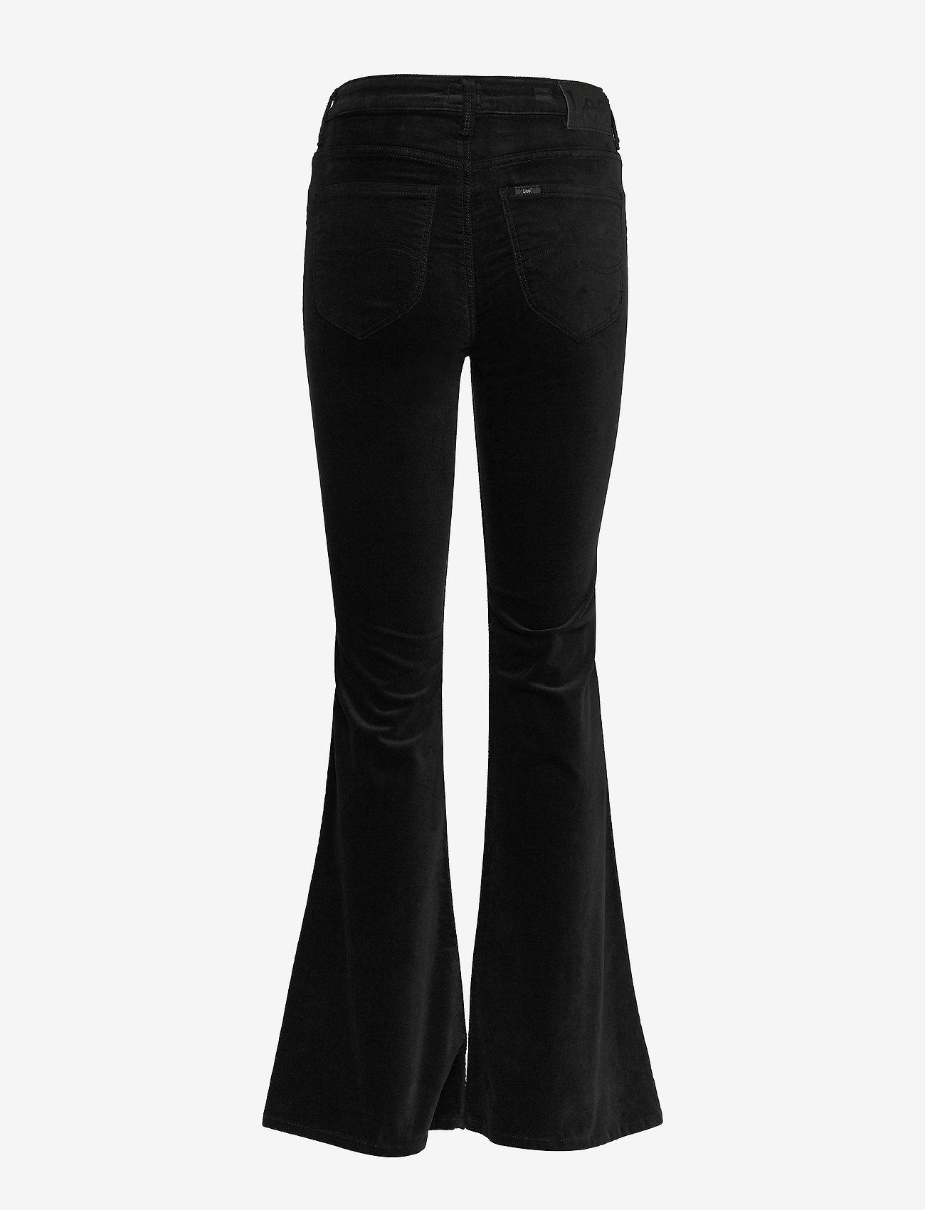 Lee Jeans - BREESE - vide bukser - black - 1