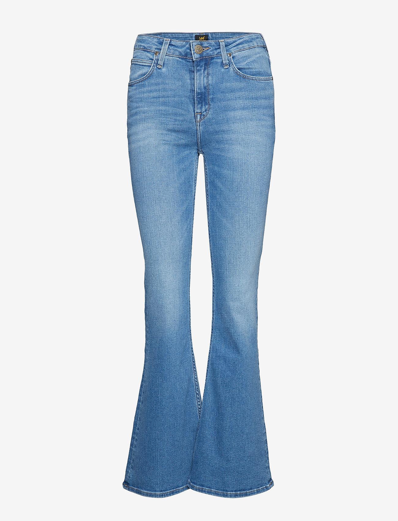 Lee Jeans - BREESE - schlaghosen - jaded - 0