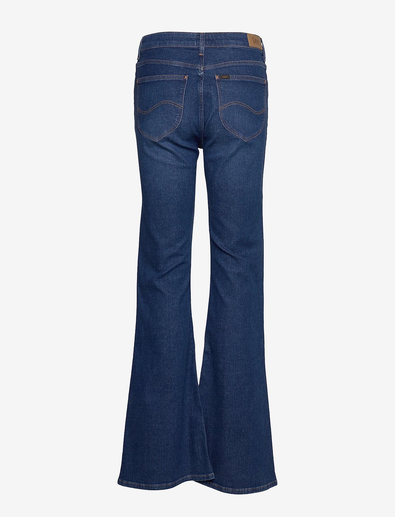 Lee Jeans - BREESE - schlaghosen - dark favourite - 1
