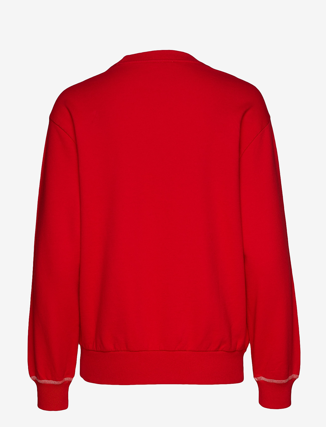 Lee Jeans - LOGO SWS - sweatshirts - warp red - 1