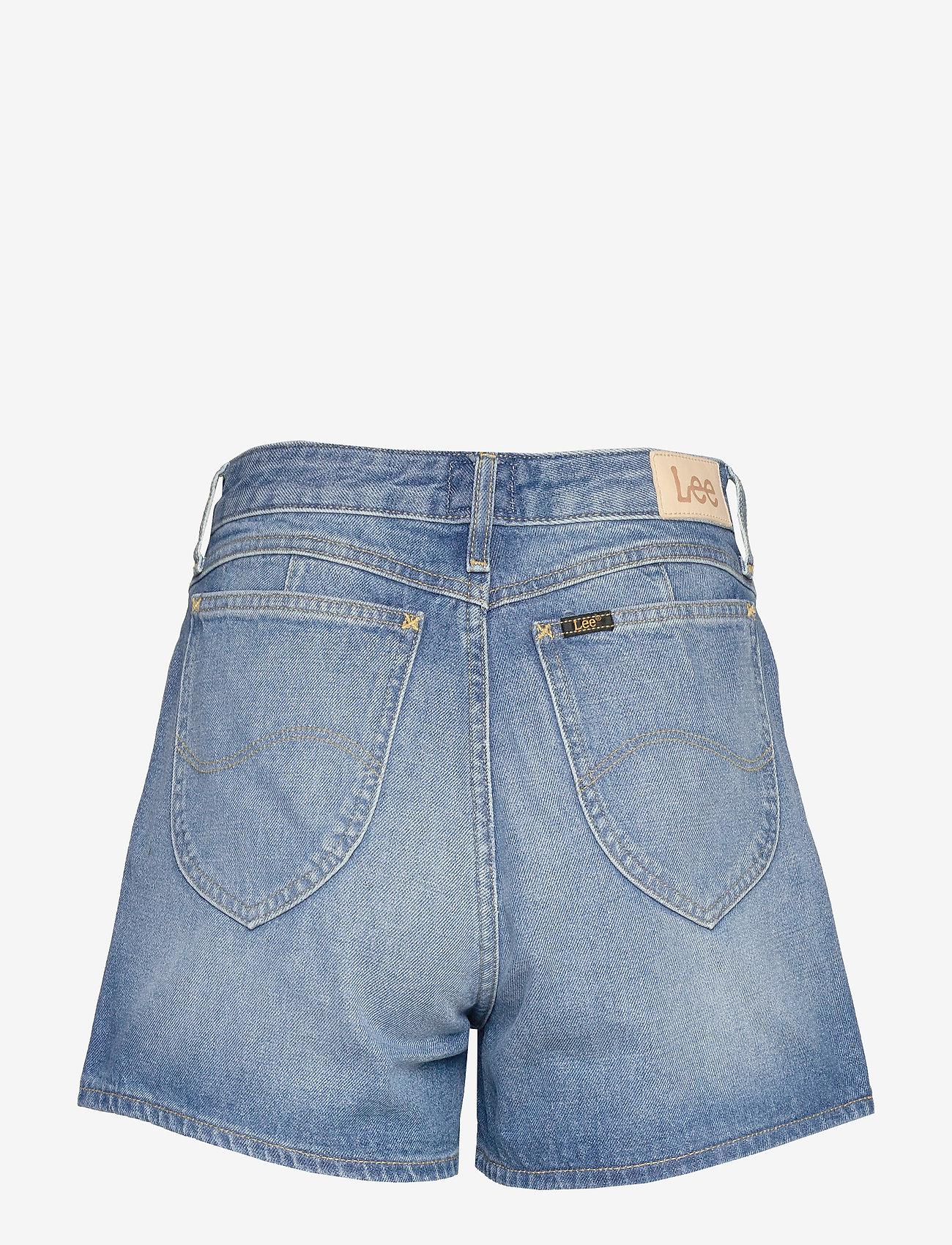 Lee Jeans - THELMA SHORT - denimshorts - worn callie - 1