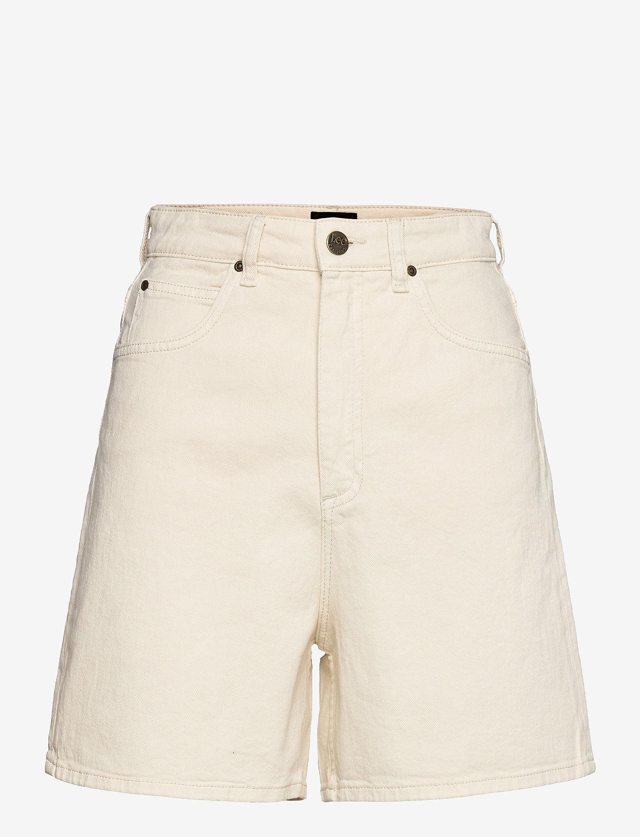 Lee Jeans - STELLA SHORT - bermudas - ecru - 0