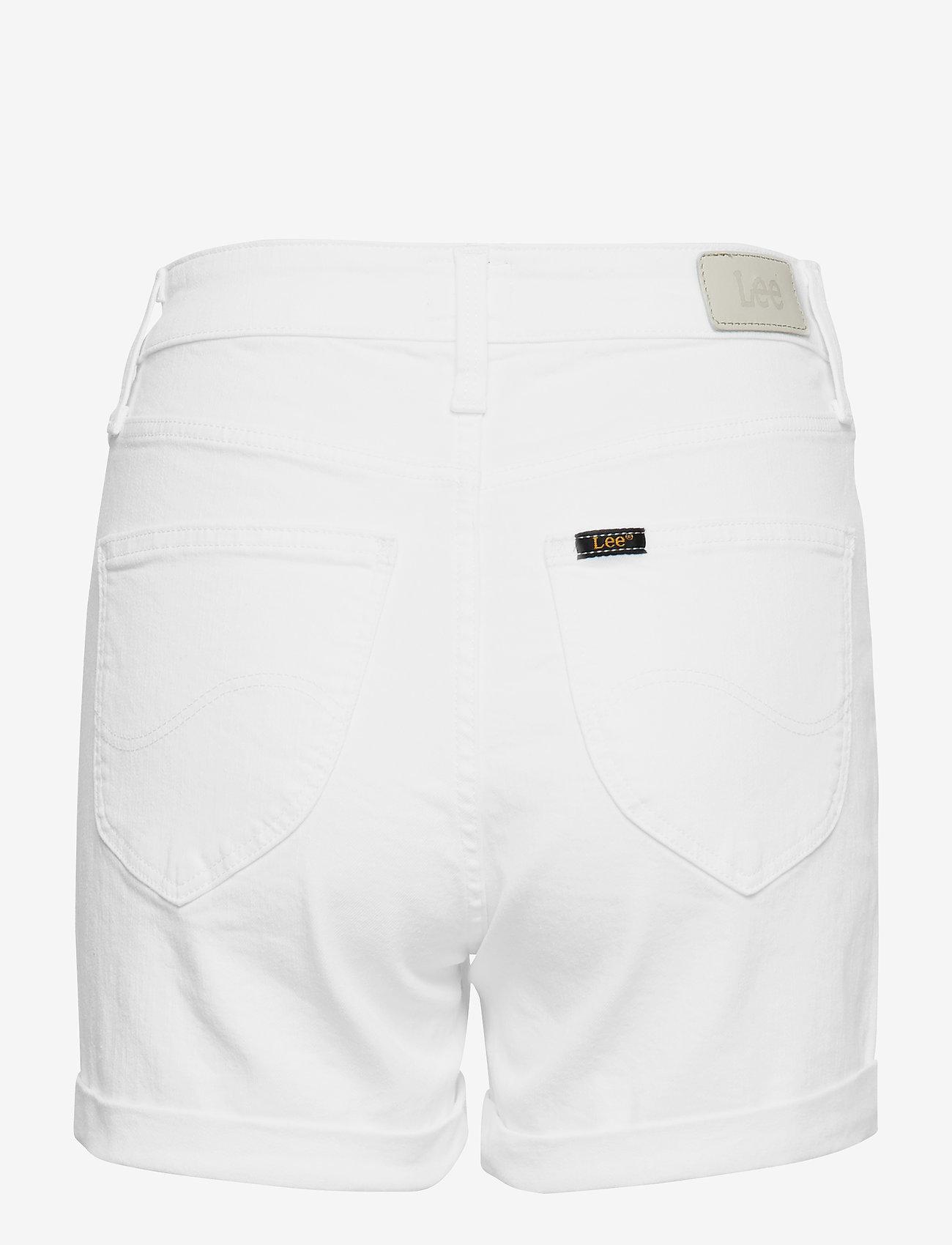 Lee Jeans - MOM SHORT - denimshorts - off white - 1