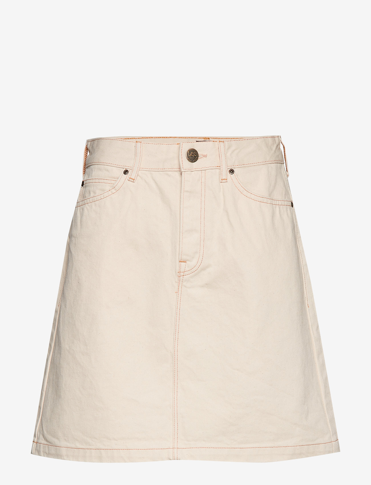 Lee Jeans - SEASONAL SKIRT - denimskjørt - off white - 0