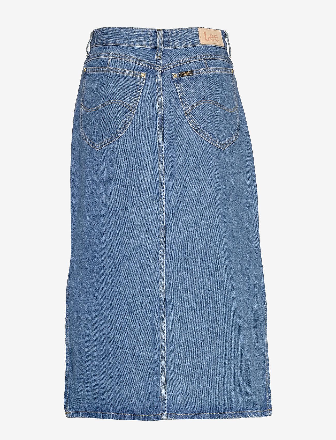 Lee Jeans - THELMA SKIRT - denimskjørt - clean callie - 1