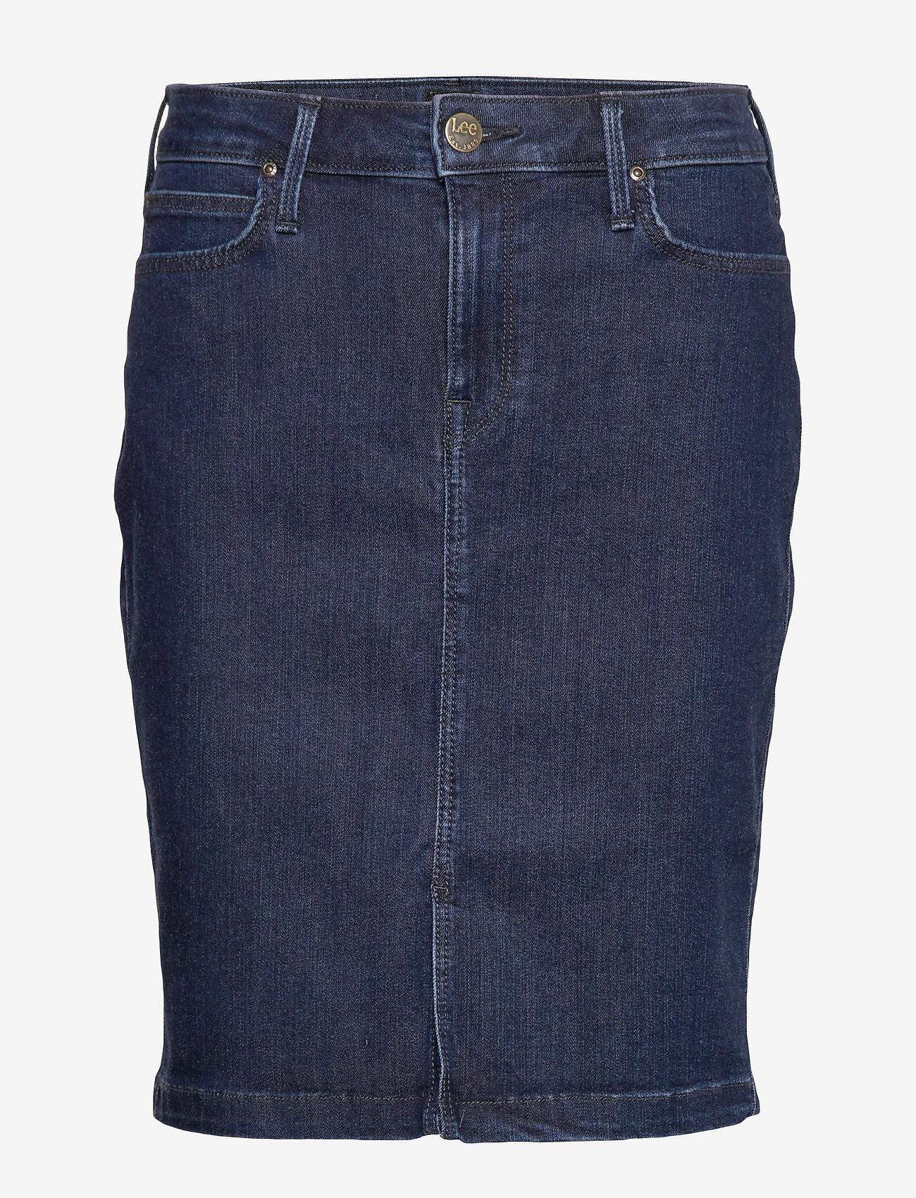 Lee Jeans - SKIRT - jeansowe spódnice - tonal stonewash - 1
