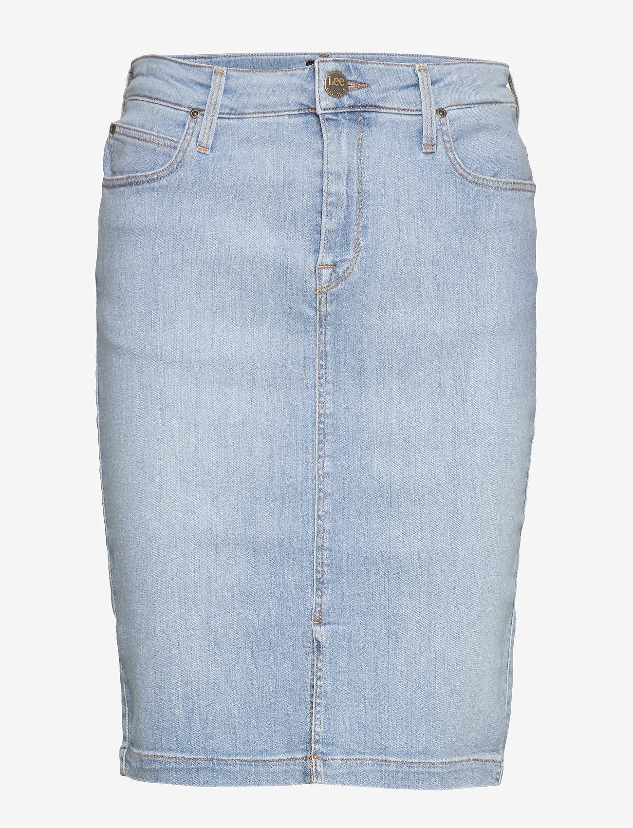 Lee Jeans - PENCIL SKIRT - denimskjørt - light coroval - 1