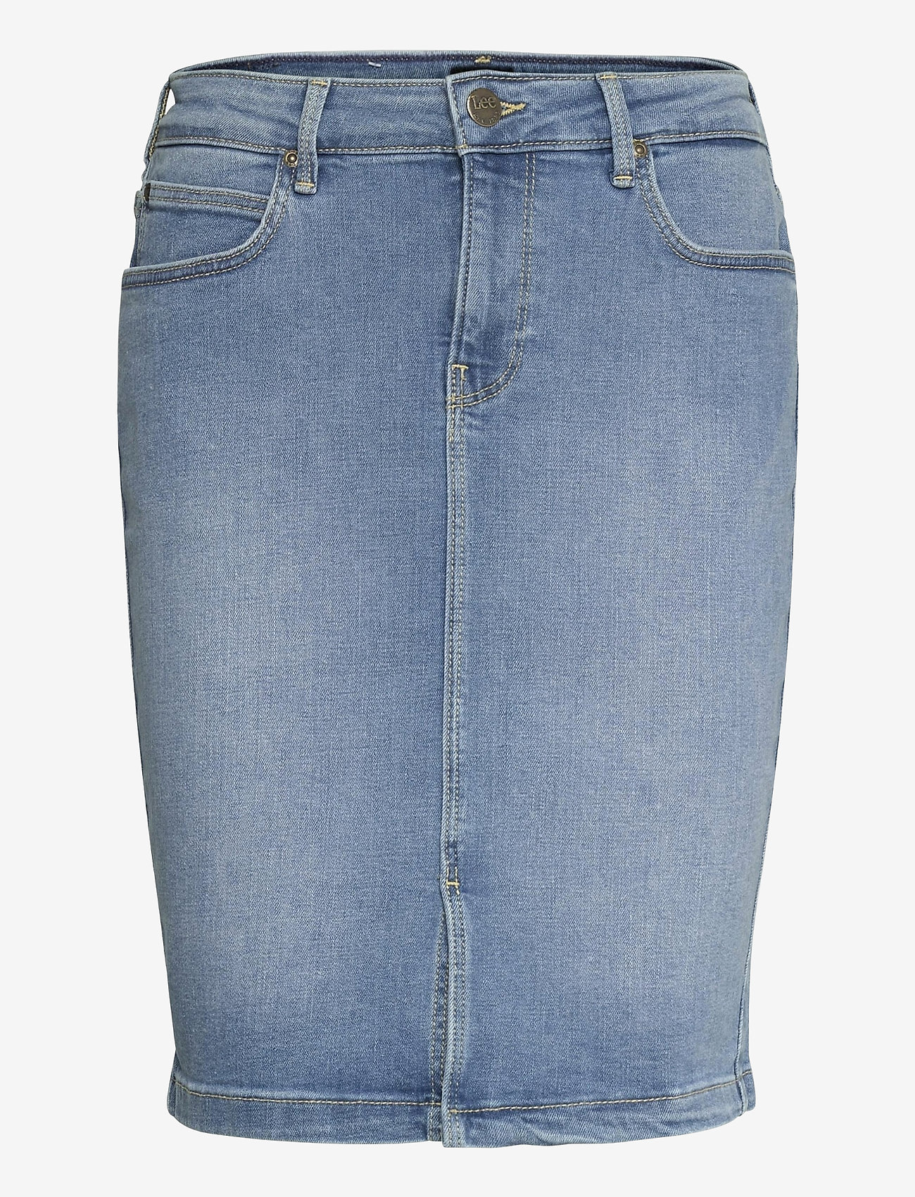 Lee Jeans - PENCIL SKIRT - jeansröcke - light lou - 0